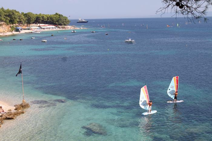 The Croatian windsurfing adventure can now begin