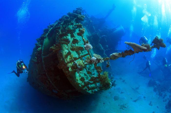 Кварнер - затонувшие корабли как новая туристическая достопримечательность! !