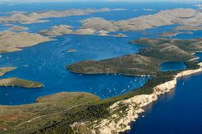 Telašćica – salt lake, cliffs and the wild coves of Dugi Otok island