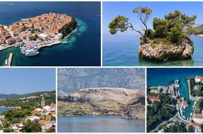 Top 5 destinaties in Kroatie voor de zomer van 2015.