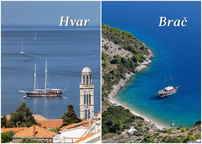 Islands in Croatia | Brač vs. Hvar
