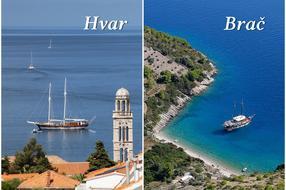 Islands in Croatia   Brač vs. Hvar