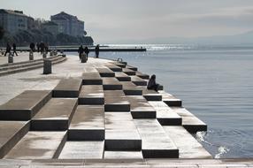 A tengeri orgona és a Napköszöntő Zadarban | A nap, a tenger és a szél művészete