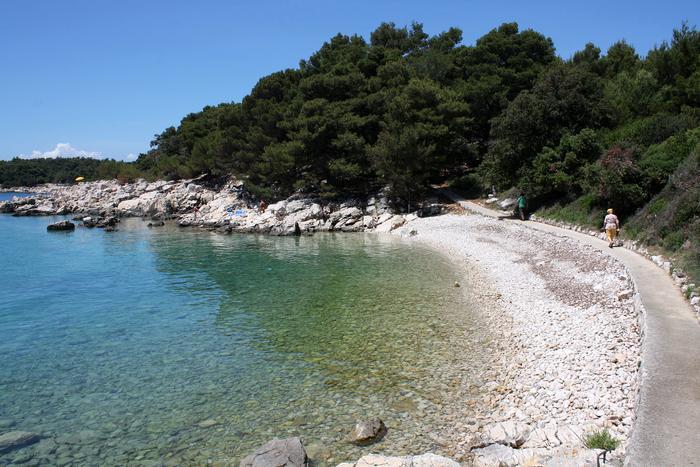 Strande Istrien Karte.Die 4 Schonsten Strande Auf Der Insel Rab Blog Adriatic Hr