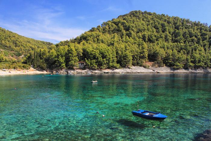 Top 6 beaches on Korčula island