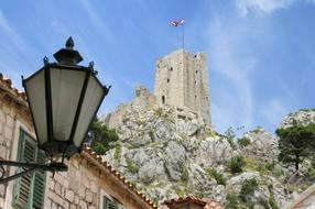 Mirabella Castle in Omiš