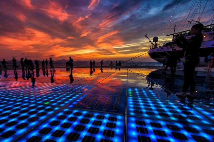 Zadar - Greeting to the Sun
