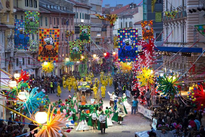 Риека – большой финал карнавала