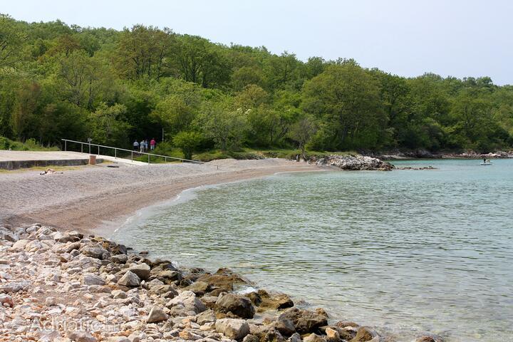 Beach: Kijac, Krk - Njivice   The best beaches in Croatia