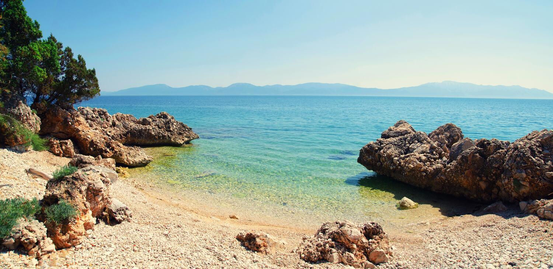 Chorvatsko u pláže