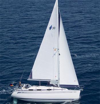 Yacht charter Bavaria 30 Cruiser | C-SY-271