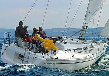 Čarter plovila Elan 333 | C-SY-1356