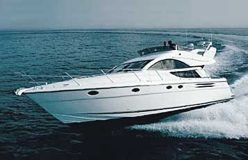 Yacht charter Fairline Phantom 50 | C-MB-803