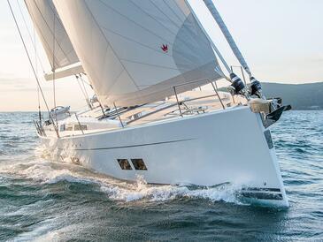 Yacht charter Hanse 588 | C-SY-3877