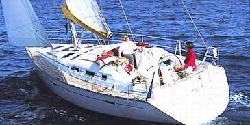 Charter hajózási eszközök Beneteau Oceanis 393   C-SY-3558