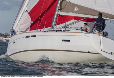 Yacht charter Sun Odyssey 419 | C-SY-4274