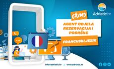 Adriatic.hr - Referent Odjela korisničke podrške - francuski jezik