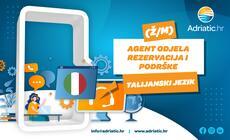 Adriatic.hr - Referent Odjela korisničke podrške - talijanski jezik