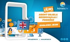 Adriatic.hr - Referent Odjela korisničke podrške - engleski jezik