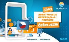 Adriatic.hr - Referent Odjela korisničke podrške - češki jezik