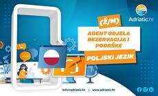 Adriatic.hr - Referent Odjela korisničke podrške - poljski jezik