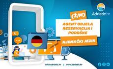 Adriatic.hr - Referent Odjela korisničke podrške - njemački jezik