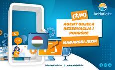 Adriatic.hr - Referent Odjela korisničke podrške - mađarski jezik
