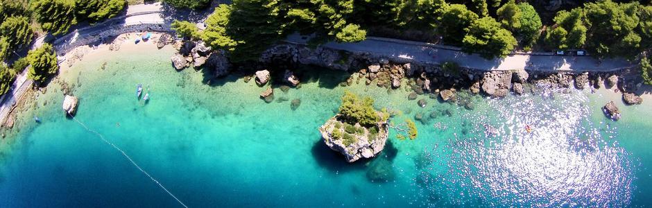 Brela Хорватия