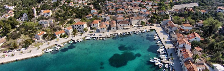 Costa Drvenik Croacia