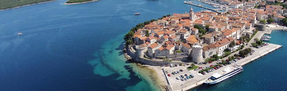 Riviera Korčula Croatie