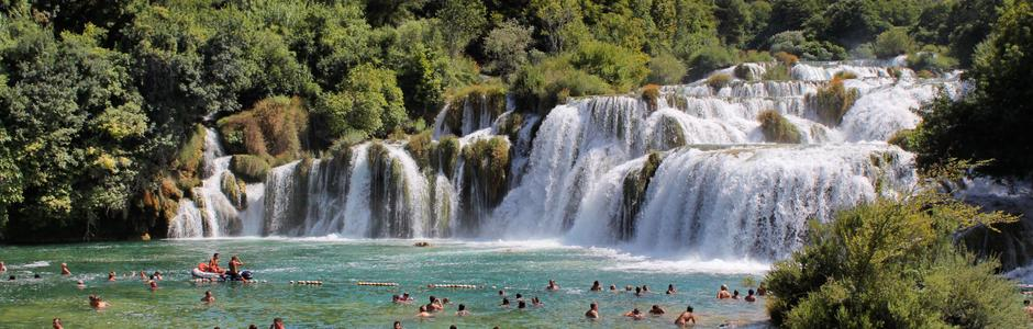 Costa Krka Croacia