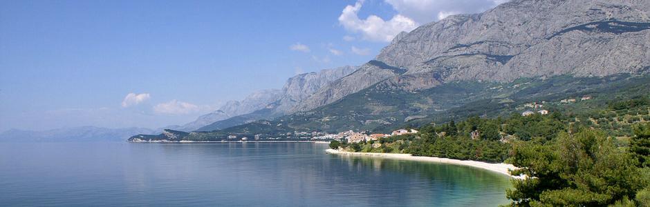 Costa Makarska Croacia