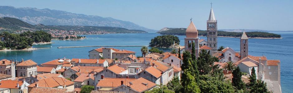 Riviera Rab Kroatien
