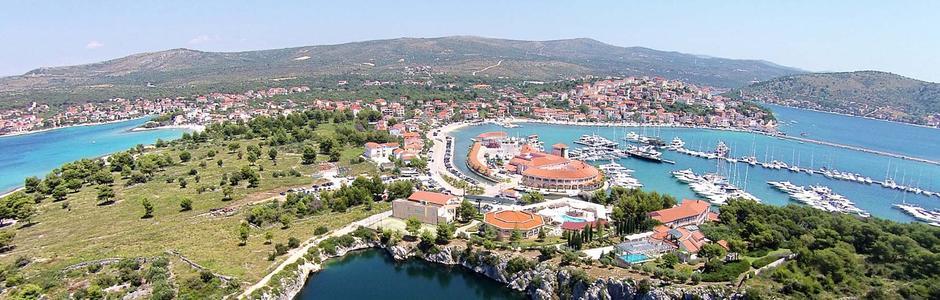 Riviera Rogoznica Kroatien