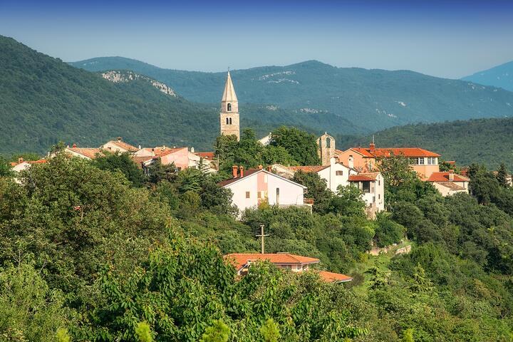 Roč на Ривьере Središnja Istra (Istra)
