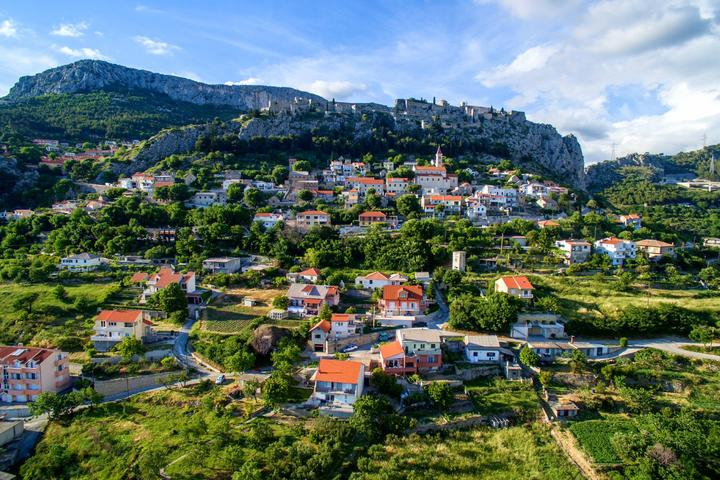 Klis in riviera Split (Central Dalmatia)