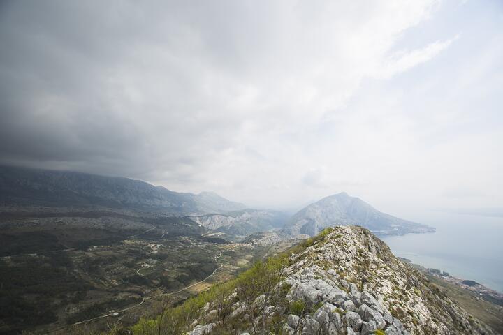 Naklice in riviera Omiš (Srednja Dalmacija)