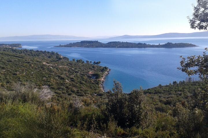Pirčina sur l'île Čiovo (Srednja Dalmacija)
