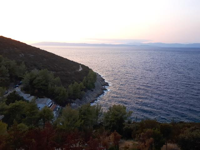 Vele Gaćice sull'isola Hvar (Srednja Dalmacija)