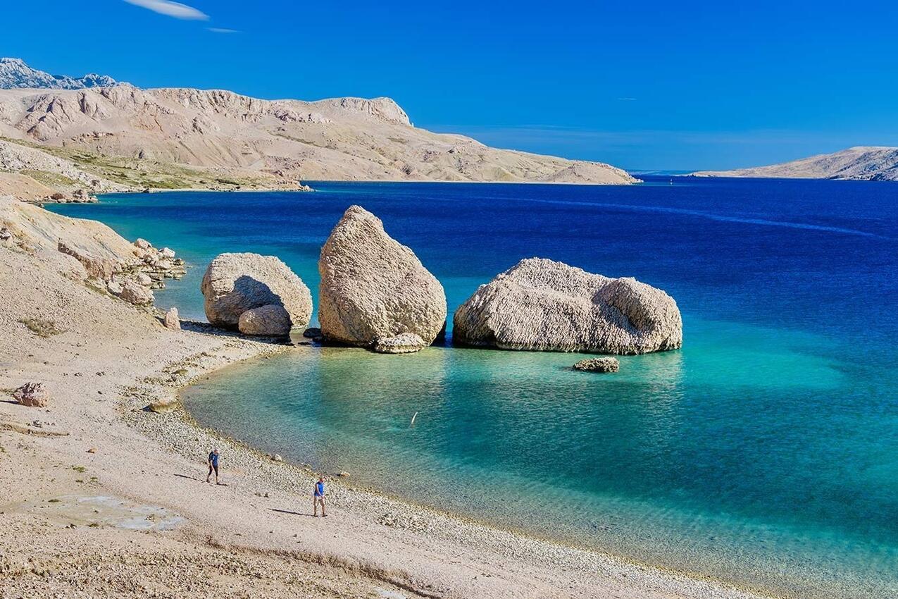 Ferienwohnung im Ort Metajna (Pag), Kapazität 2+3 (2147151), Metajna, Insel Pag, Kvarner, Kroatien, Bild 12