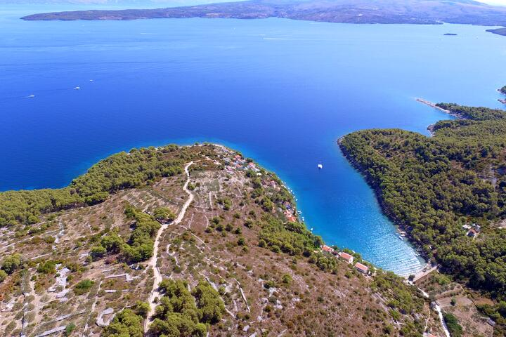 Gornja Krušica auf der Insel  Šolta (Srednja Dalmacija)