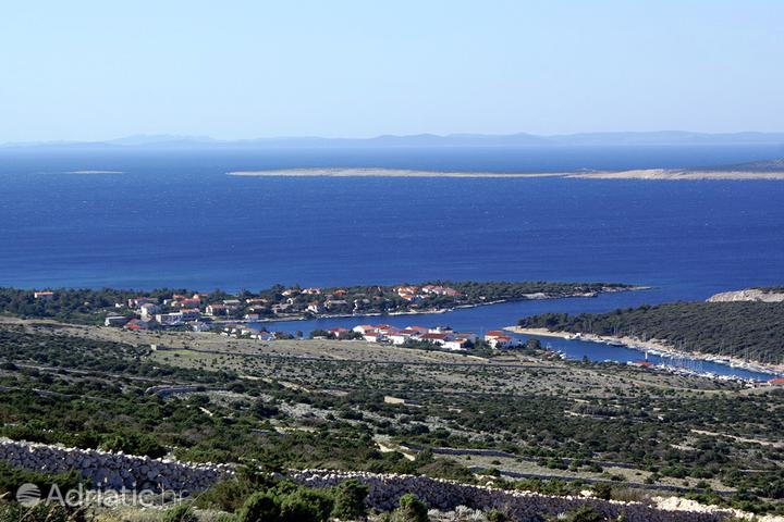 Šimuni on the island Pag (Kvarner)