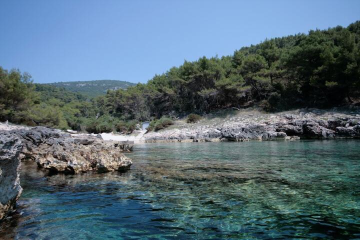 Ripna na otoku Korčula (Južna Dalmacija)