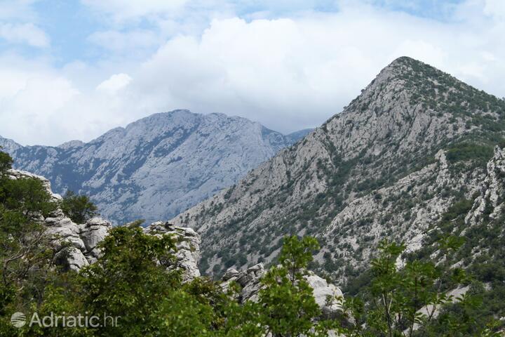 Milovac на Ривьере Paklenica (Sjeverna Dalmacija)
