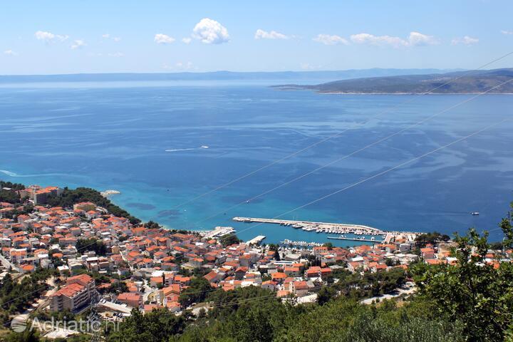 Baška Voda Makarska riviérán (Srednja Dalmacija)