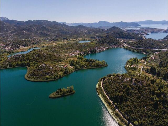 Baćina in riviera Neretva Delta (South Dalmatia)