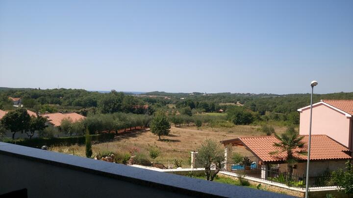 Mugeba in riviera Poreč (Istra)