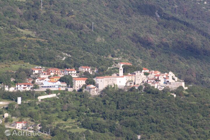 Plomin in riviera Labin (Istra)