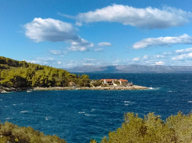 Bristva on the island Korčula (Južna Dalmacija)