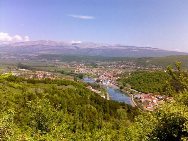 Trilj in riviera Zagora (Srednja Dalmacija)